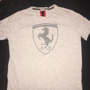 Puma Ferrari racing t shirt